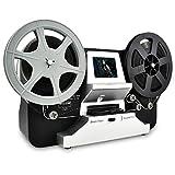 Rybozen Escáner de película para 8 mm y Super 8 película, digitalizador de película Digitalización Super 8 Digital Film Converter HD 1080P 2.4''LCD