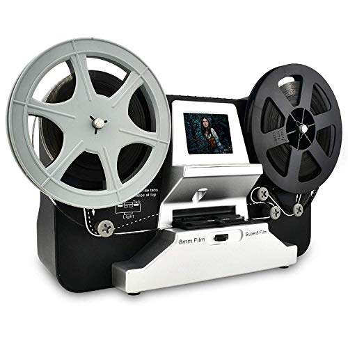 Rybozen Super 8 - Normal 8 Film Scanner mit 2,4