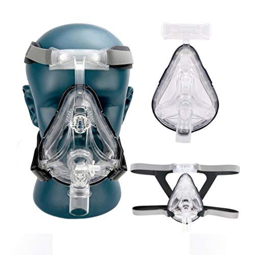HYRL Maschera Intera con Copricapo Regolabile Gratuito per Dormire, Disponibile in 3 Dimensioni