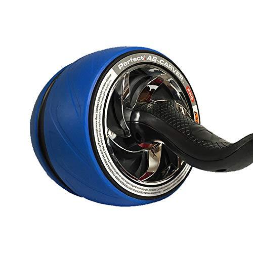 ASDNN Rueda Abdominal Auto RetráCtil para Ejercicio Abdominales AB Roller Wheel con Esterilla De Rodilla