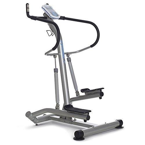 Horizon Fitness Side Stepper Dynamic 2, Argento/Grigio, 100533