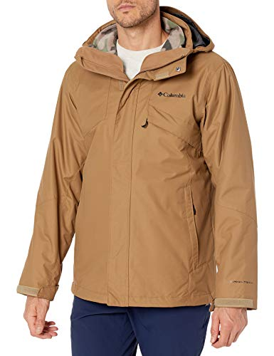 Columbia Men's Bugaboo Ii Fleece Interchange Winter Jacket, Waterproof & Breathable,Delta,Large