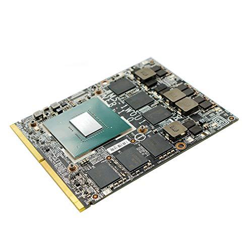 nVidia Geforce GTX 1060 6GB Graphics Video Card GPU Upgrade for Alienware 18 17 15 R1 R2 R3 R4 M17X R5 M18X R3 Gaming Laptop, GDDR5 6 GB N17E-G1-A1 MXM 3.0 VGA Board Replacement Repair Parts