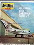 AVIATION MAGAZINE [No 599] du 01/12/1972 - LES AVIONS CIVILS DASSAULT-BREGUET - - Lâ ACTUALITE AEROSPATIALE - Lâ ECONOMIE EN TROIS DIMENSIONS - Lâ EUROPE SPATIALE REVE OU REALITE - A LA VEILLE DE LA CONFERENCE SPATIALE EUROPEENNE LE POINT SUR LA QUESTION - FAITS ET COMMENTAIRES - POINTS DE VUE EUROPEENS - Lâ ACTUALITE EN IMAGES - LES AVIONS CIVILS DASSAULT-BREGUET - LE MYSTERE-FALCON 30 ET LE REACTEUR AVCO LYCOMING ALF-502D - HISTORIQUE ET DEVELOPPEMENT DU FALCON 10 - DESCRIPTION DU FALCON 10-0
