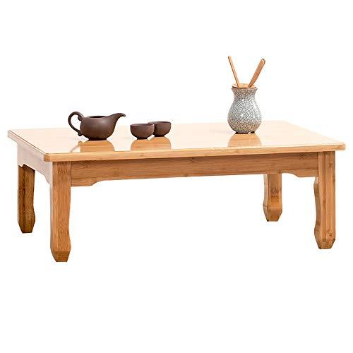 LiChaoWen Mesa de té Tabla De Té Mirador Tabla Plazoleta Tabla De Madera Antiguo Tatami Tabla Japonesa Tabla Corto Sólido Mesa De Comedor (Size : D)