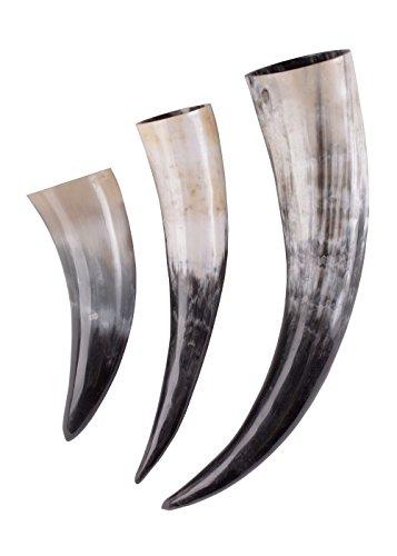 Trinkhorn ca. 0,4 Liter - Methorn Wikinger Mittelalter Metal Gothic Horn