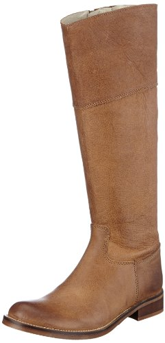 HIP Damen D1107 Rough Leather Stiefel & Stiefeletten, Braun (Natural), 36 EU
