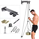 HAIZICJ Nuevo Fitness DIY Polea Cable Máquina Accesorio Tricep Workout Machine Brazo Biceps Triceps Blaster, Fitness Home Gym Workout Equipment Set