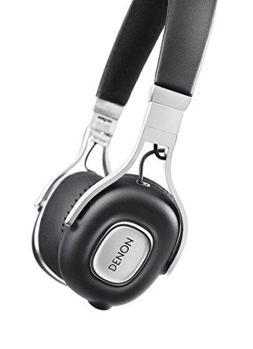 Denon AH-MM200 Kopfband Binaural Verkabelt Schwarz Mobiles Headset - Mobile Headsets (Verkabelt, Kopfband, Binaural, Ohraufliegend, 10-2500 Hz, Schwarz)