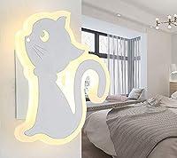 モダンなミニマリストスタイル、クリエイティブなウォールランプ、装飾、照明、LEDウォールランプ、アクリル素材、18 * 23 cm、寝室、廊下