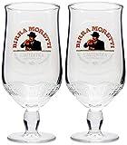 Birra Moretti Bier-Glas, 2 Stück