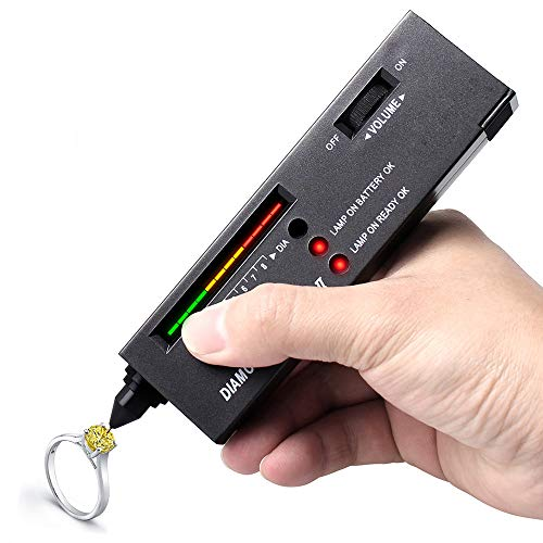 HKANG® Diamant Tester Tragbar Selector V2 Diamantprüfer Diamant Prüfgerät Tester Schmuck Selector II Hochpräzises Testwerkzeug für Schmuck