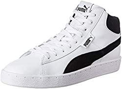 Puma Mens 1948 Mid Sl Idp White Black Sneakers