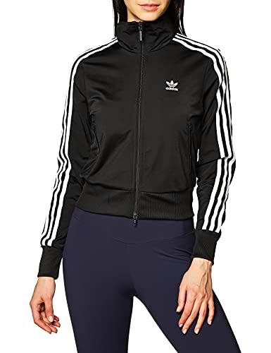adidas Firebird TT Sweatshirt, Mujer, Black/White, 46