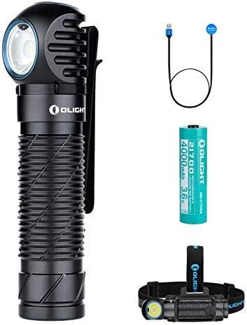 Olight Perun 2 Multi Functional Right Angle Headlight 2500 Lumens MCC Rechargeable 21700 Headlamp product image