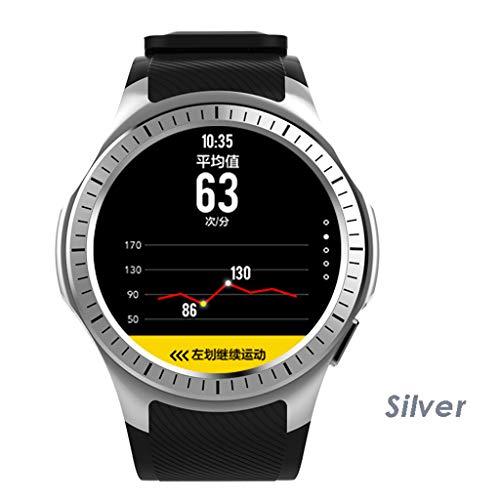 JingJingQi Fitness tracker L1 Smart Watch Bluetooth GPS Mannen Hartslagmeter Slaapmonitor Sport Smart Band PK KW88 SmartWatch