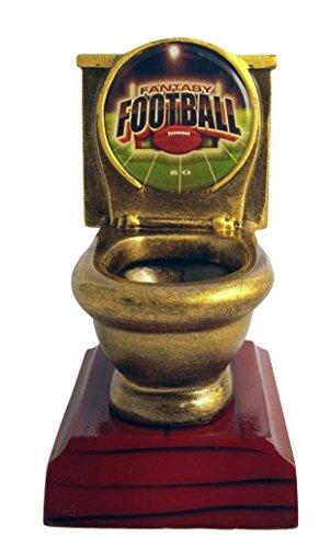 Decade Awards Fantasy Football FFL Toilet Bowl Trophy/Award by