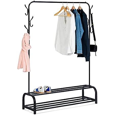 IDMarket - Portant vêtements PAULE penderie XXL