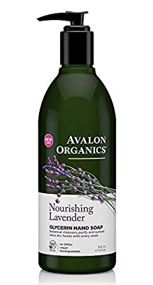 Avalon Organics Nourishing Lavender Glycerin Hand Soap, 12 oz.