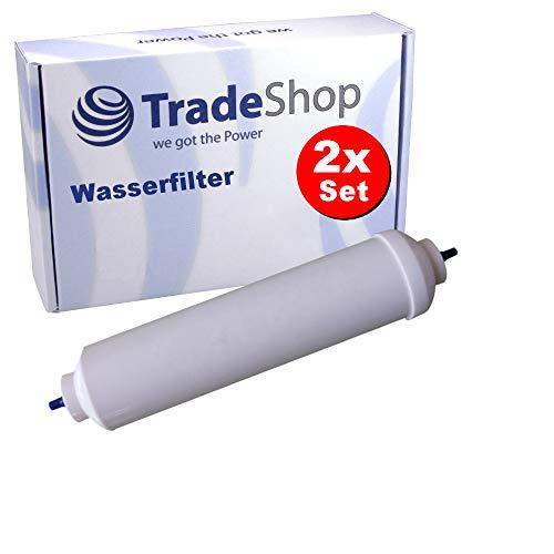 2x Ersatz Wasser-Filter für Samsung RS7768FHCWW RS7768FHHCW RS7768FHCSP/EF/WS RS7768FHCSR RS7778FHCBC RS7778FHCSL RS7778FHCSP RS7778FHCSP RS7778FHCSR