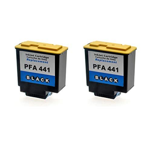 LS 2 Patronen für Philips 253014355 Black Schwarz, 20ml, kompatibel zu PFA-441
