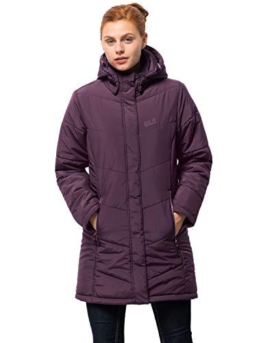 Jack Wolfskin Damen Mantel Svalbard Coat Women, aubergine, M