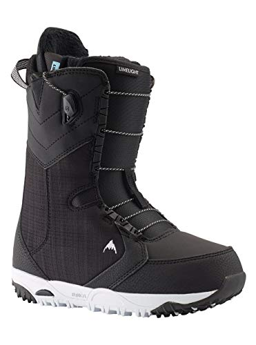 Burton Damen Limelight Snowboard Boot, Black, 8.5
