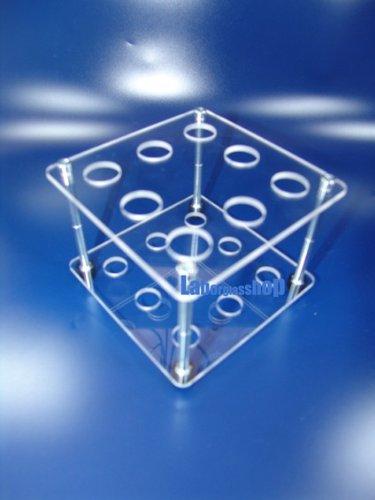Reagenzglasgestell für 8 Reagenzgläser bis 16er Durchmesser SCHWEFELFADEN Reagenzglasständer