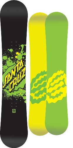 Santa Cruz Rebel Serie Snowboard 137