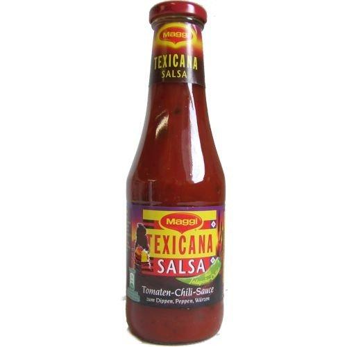 Texicana Salsa Tomaten Chili Sauce, 500ml Flasche