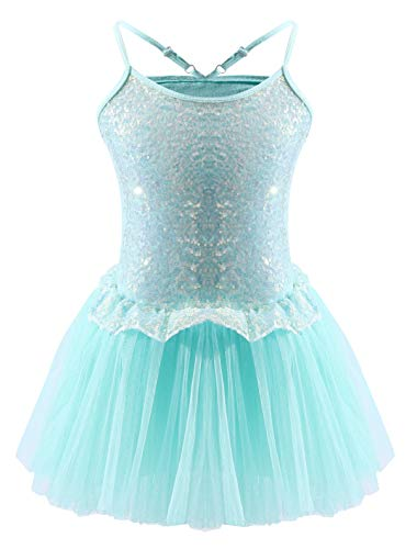 Dancina Sparkle Ballet Leotards Dance Wear 4 Mint