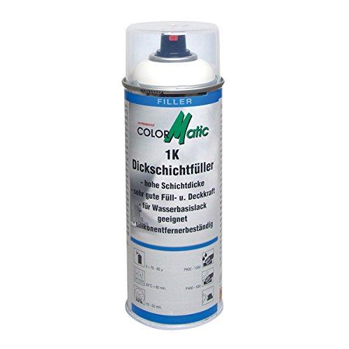 COLORMATIC 385568 Professional 400ml cm 1K Dickschichtfüller, Weiß