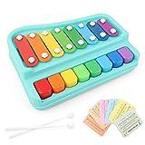 Musikspielzeug 2in1Hände für Kinder, die an das Klavier klopfen und Musikinstrumentenspielzeug...