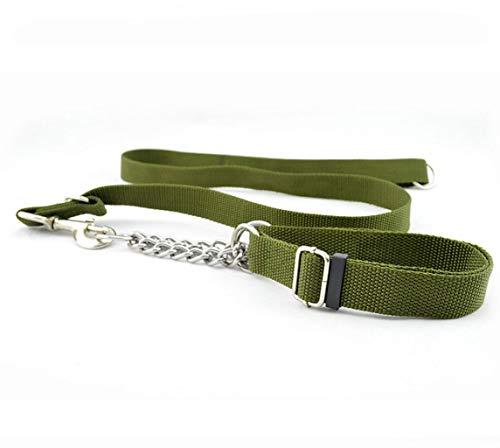 Big Dog Leash trekkabel met ijzeren ketting, kraagset Pull, artikel voor huisdieren
