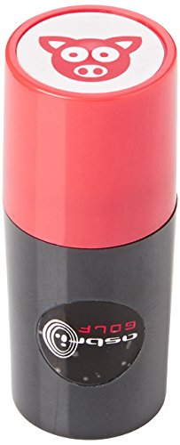 Asbri Golf Pig Ball Stamper - Red by Asbri Golf