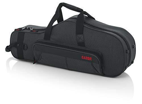 GATOR Cases Grauer Koffer für hartes Altsaxophon