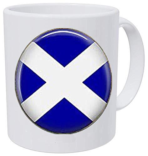 Schottland-Flagge Schmuck – Schottischer Schmuck – Anhänger mit schottischer Flagge – Kaffeetasse von Your Sonogram