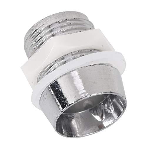 LANTRO JS - Soporte de lámpara LED de 50 piezas de 10 mm, accesorio de base de soporte de montaje de LED, accesorio de base de enchufe de rosca para iluminación de diodo emisor de luz