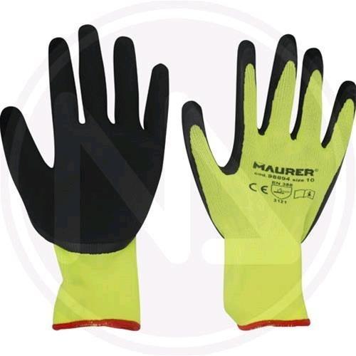 gants de travail en latex Mod. HI-GRIP MAURER Taille 8 Confection 12 pièces