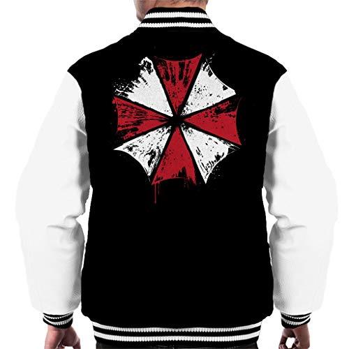 Cloud City 7 Resident Evil Umbrella Corp Ink Logo Men's Varsity Jacket