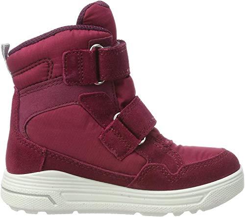 ECCO Mädchen URBAN Snowboarder Hohe Sneaker, Violett (Red Plum/Aubergine 57636), 27 EU