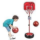 AJAMQ Niños Aro De Basket Canasta 165Cm Regulable Tablero Baloncesto Exterior Interior Casa Jardín Minibasket Basketball Aro De Basquet Casero Infantil Basquetbol Sistema Set