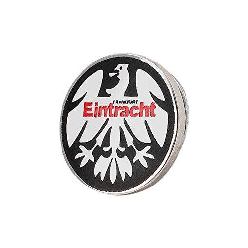 Eintracht Frankfurt Pin schwarz -Eintracht- Button, Anstecker Logo SGE - Plus Lesezeichen I Love Frankfurt