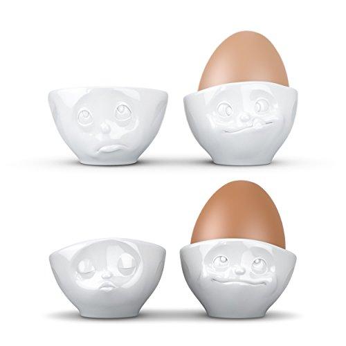 Lustige Porzellan-Eierbecher