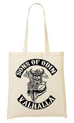 BakoIsland Sons Of Odin Valhalla Chapter Tragetasche Einkaufstasche