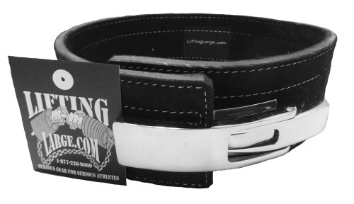 Lifting large powerlifting belt with lever buckle 13mm image
