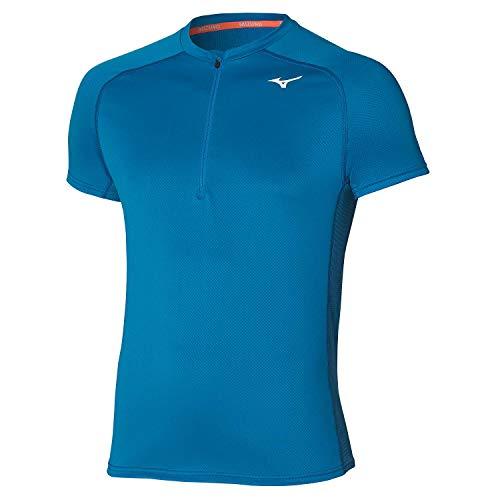 Mizuno ER Trail HZ T-Shirt, Bleu...