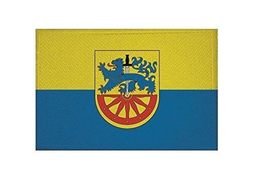 U24 Aufnäher Radeberg Fahne Flagge Aufbügler Patch 9 x 6 cm