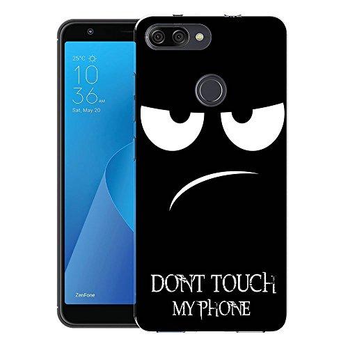 """Zenfone Max Plus 5.7"""" (ZB570TL) M1 Custodia Cover, FoneExpert® Silicone Caso Molle di TPU Sottile Anti Scivolo Case Posteriore Della Copertura Per ASUS Zenfone Max Plus 5.7"""" (ZB570TL) M1"""