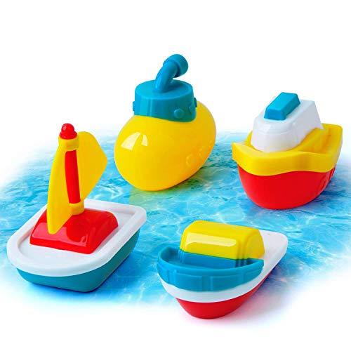 GizmoVine Juguetes de Baño en Forma de Animals, Juguetes Bañera de Bebé Hechos para Muchachos y Chicas ; Juguete de Piscina para Juego de Chorro Animals.